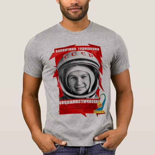 Valentina Tereshkova FIRST WOMAN IN SPACE T-Shirt