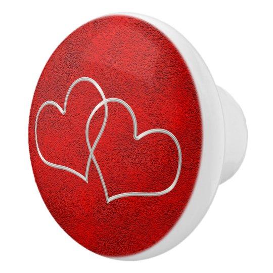 Valentine #2 ceramic knob