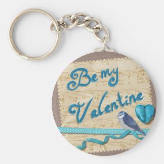 Valentine #2 keychain