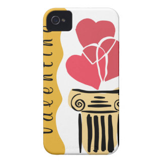 Valentine 3 Hearts iPhone 4 Case-Mate Cases