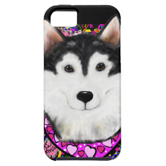 Valentine Alaskan Malamute Case For The iPhone 5