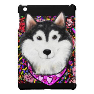 Valentine Alaskan Malamute iPad Mini Covers