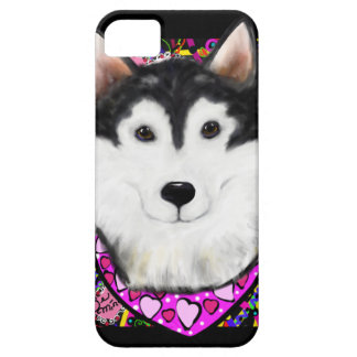 Valentine Alaskan Malamute iPhone 5 Case