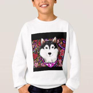 Valentine Alaskan Malamute Sweatshirt