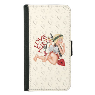 VALENTINE BOY LOVE Galaxy S5 Wallet Case