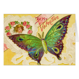 Valentine Butterfly Card