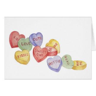 Valentine Candy - Valentine Card