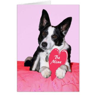 """Valentine Card - """"Magpie"""""""