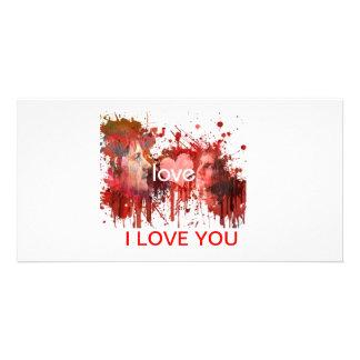 Valentine Card Photo Card