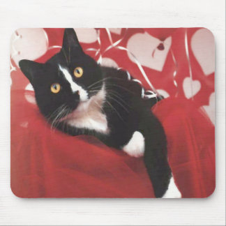 Valentine Cat Mousepad