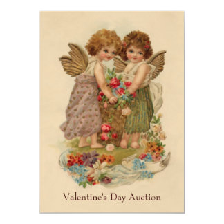 "valentine charity party 5"" x 7"" invitation card"