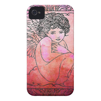 VALENTINE CHERUB iPhone 4 COVER