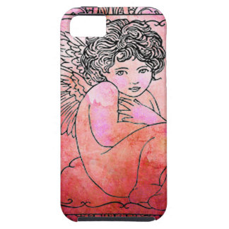 VALENTINE CHERUB iPhone 5 CASES