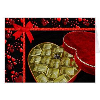 Valentine Chocolate Card