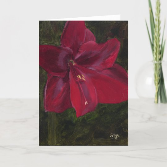 Valentine Christmas Card