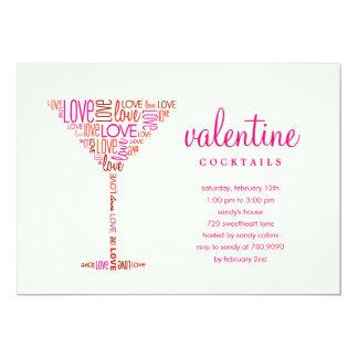 Valentine Cocktail Party Invitation