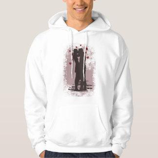 valentine couple hoodie