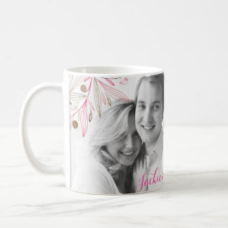 Valentine couple name love mug