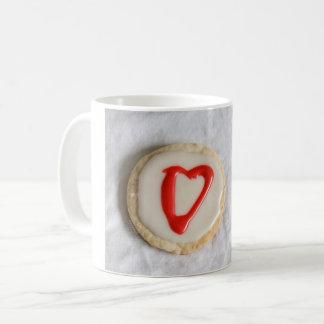 """Valentine"" Cutout Cookie jjhélène Memento Coffee Mug"
