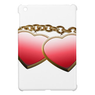 Valentine day love chain with hearts cover for the iPad mini