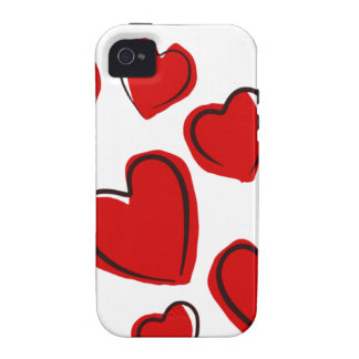 Valentine Day Love Heart iPhone 4/4S Covers