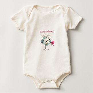Valentine Day Poster Baby Bodysuit