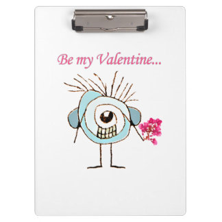 Valentine Day Poster Clipboard