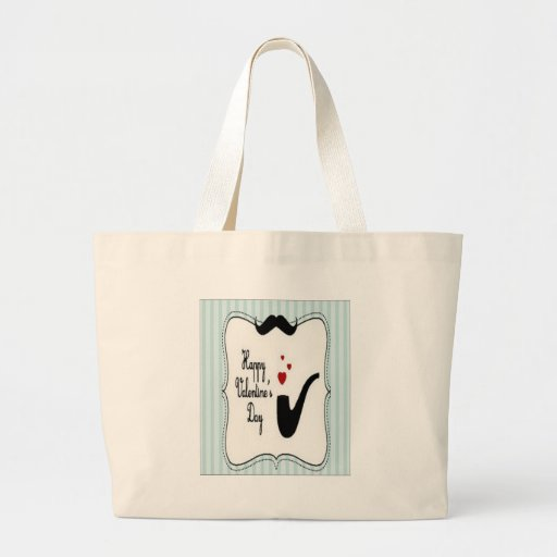 Valentine day special design canvas bags