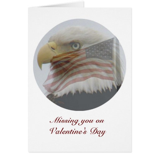Valentine for Military People Greeting Card