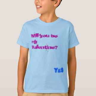 valentine for zazzle, Will you be my Valentine?... T-Shirt