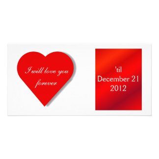 Valentine Forever - Photo Greeting Card