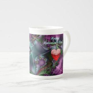 Valentine Fractal Art Mug