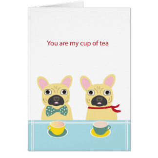 Valentine Frenchie Card