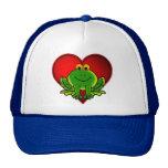 Valentine Frog Mesh Hats