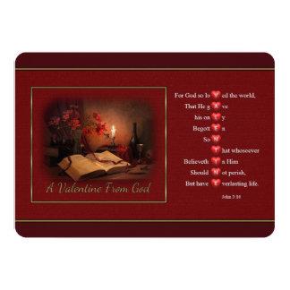 Valentine From God Customizable Invitations