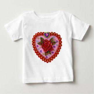 Valentine Heart Baby T-Shirt