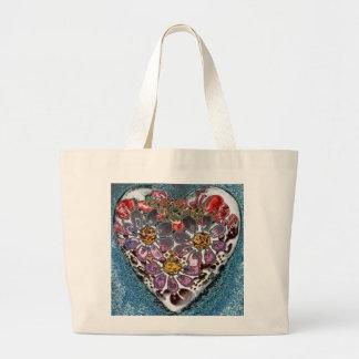 Valentine Heart Jumbo Tote Bag
