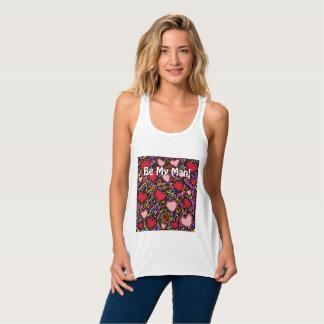 Valentine Heart Designs Tank Top