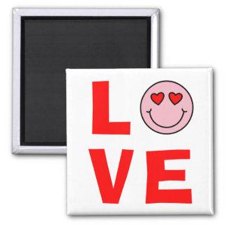 Valentine Heart Eyes Emoji Love Magnet
