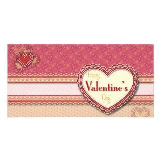 Valentine Heart Photo card