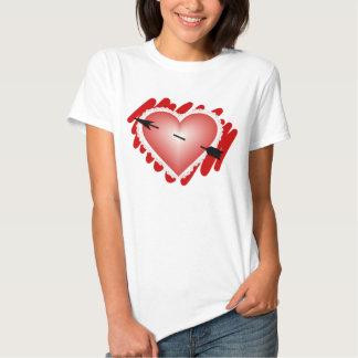 Valentine Heart Tshirts