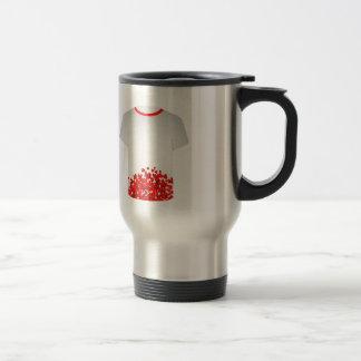 Valentine Hearts 15 Oz Stainless Steel Travel Mug