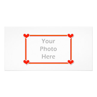 Valentine Hearts 4 You Photo Card Template