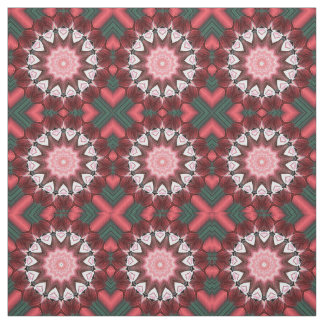 Valentine Hearts and Petals Fabric