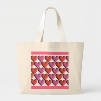 Valentine Hearts Tote Bags