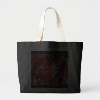 Valentine Hearts Jumbo Tote Bag