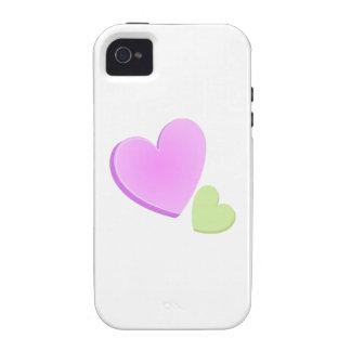 Valentine Hearts iPhone 4 Cases