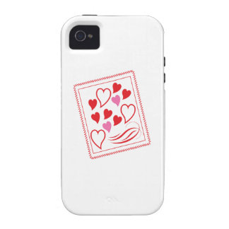 Valentine Hearts iPhone 4 Cases