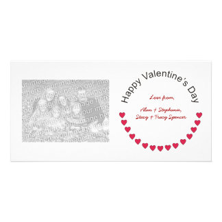 Valentine Hearts Photo Cards