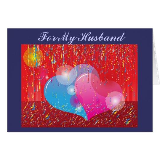Valentine Husband Card